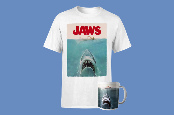 Lot Les Dents de la Mer : T-Shirt & Mug
