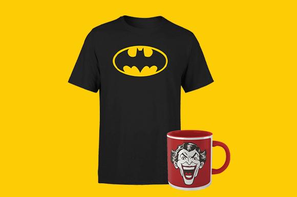 DC - T-shirt & Mug Bundle only £8.99