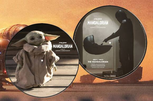 Star Wars Mandalorian Vinyles