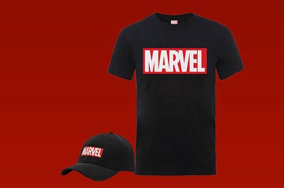 T-Shirt & Casquette Marvel