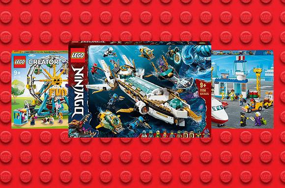 20% de réduction sur les LEGO
