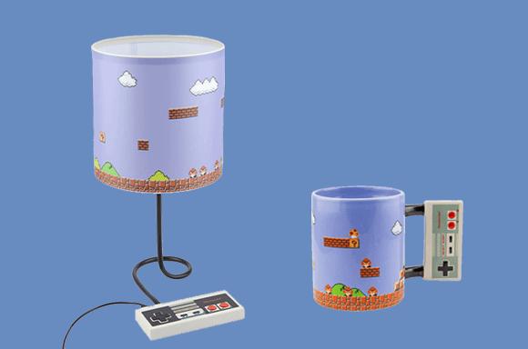 Lot NES Lampe & Mug