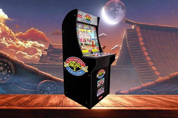 Cabinet d'arcade Street Fighter