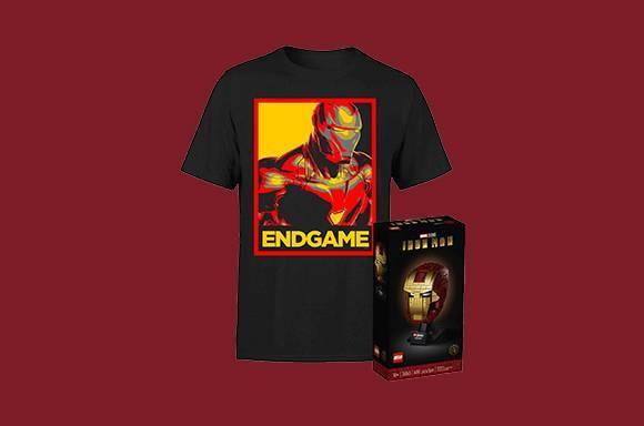 Casque et T-Shirt Iron Man LEGO à seulement 54,99 €
