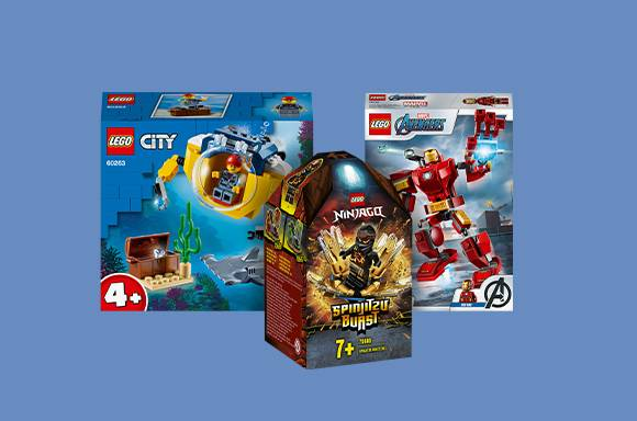 3 LEGO pour 22€ !