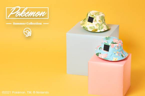 POKEMON SUMMER BUCKET HATS