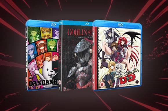 3 films Anime pour 32€