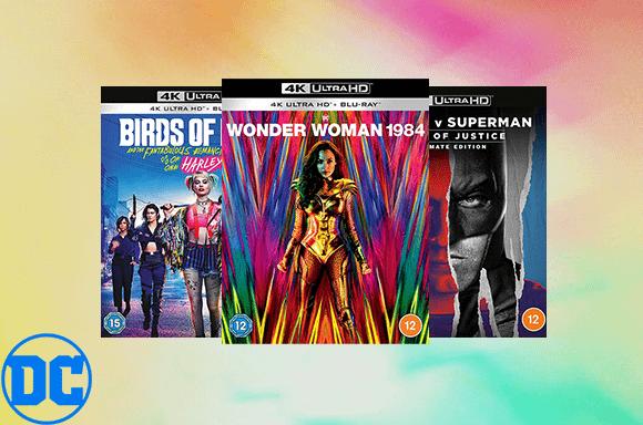 Offre Multi-achat Films DC en 4K
