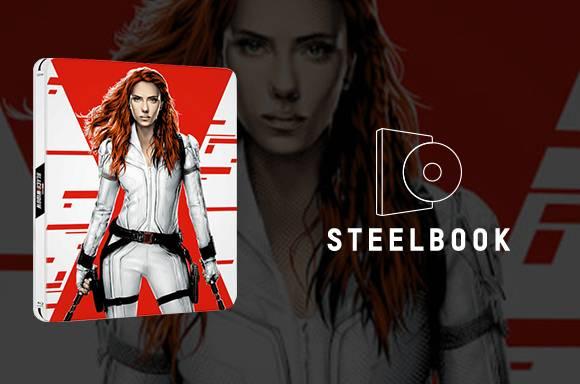 Steelbook 4K ULTRA HD BLACK WIDOW