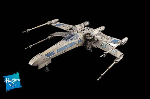 Antoc Merrick's X-Wing Fighter Collectable Playset