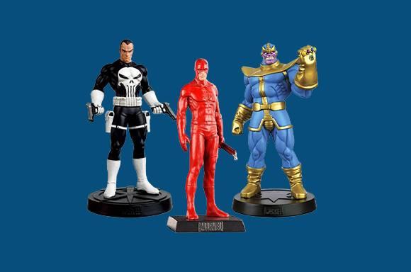 5 Figurines pour 34,99€