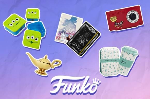 50% de réduciton sur les articles pour la maison Funko !