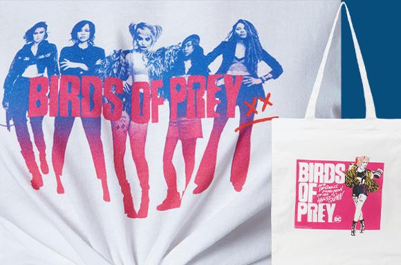 LOT DC - T-shirt & Tote Bag 9,99€ seulement !