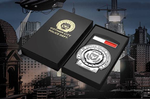 DC Comics Batman Trilogy Gotham Police Badge