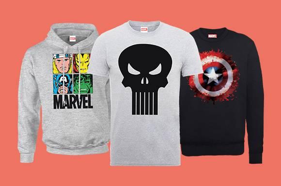 30% de réduction Mode Marvel