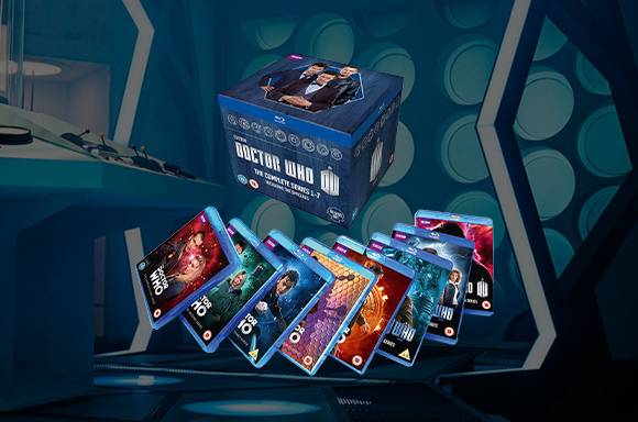 Réductions Blu-Ray Doctor Who Saisons 1 à 7