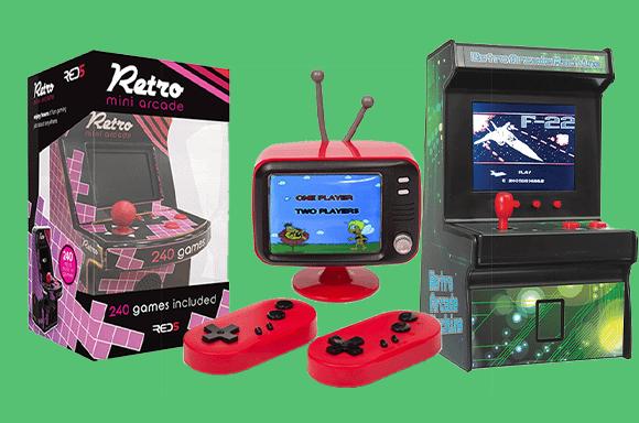 25% Jeux Vidéo Retro Arcades & Consoles