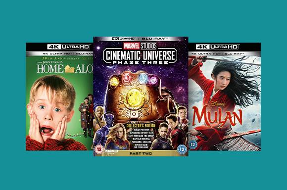 Blu-ray & 4K Disney