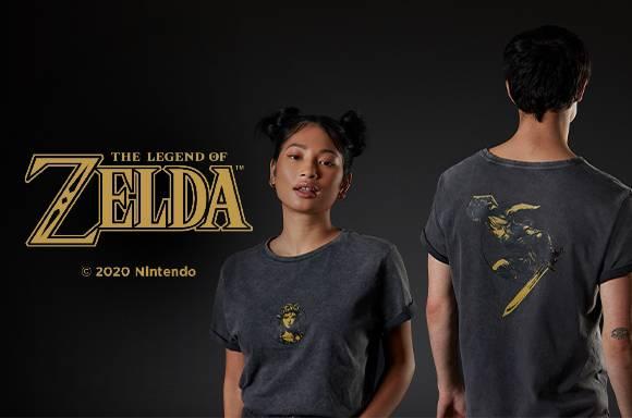 30% de réduction sur les vêtements Zelda