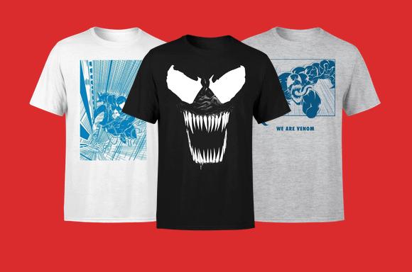 T-Shirts Venom à 9,999€ seulement