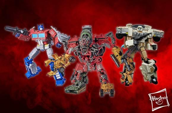 15% de réduction sur les figurines Hasbro Transformers