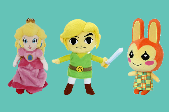 Peluches Nintendo 20% de réduction !