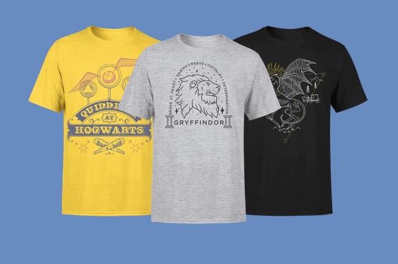 2 t-shirts Harry Potter pour 19,99€