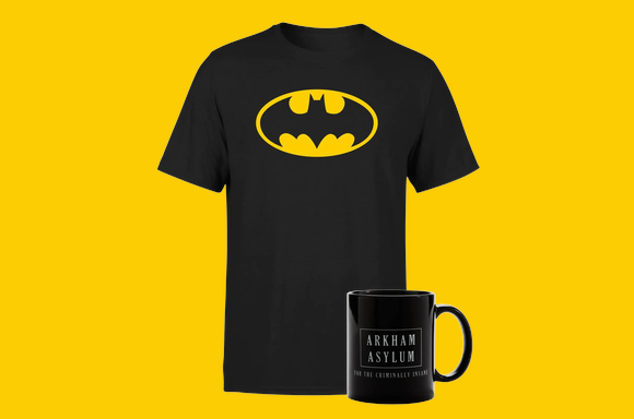 Lot T-Shirt & Mug Batman