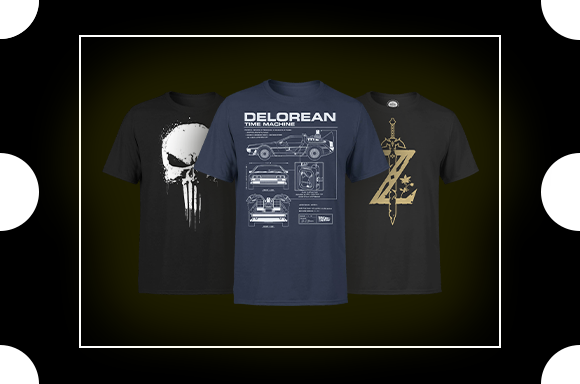 2 = 20€ | 3  = 27 T-SHIRTS GEEKS ADULTES