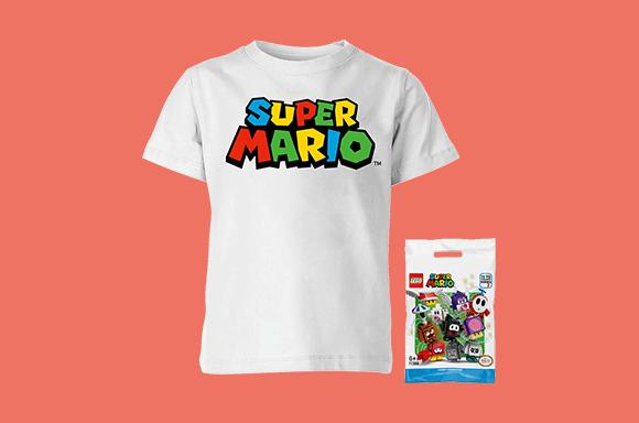 Lot Super Mario