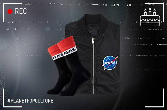 NASA Jacket & Socks only 19.99