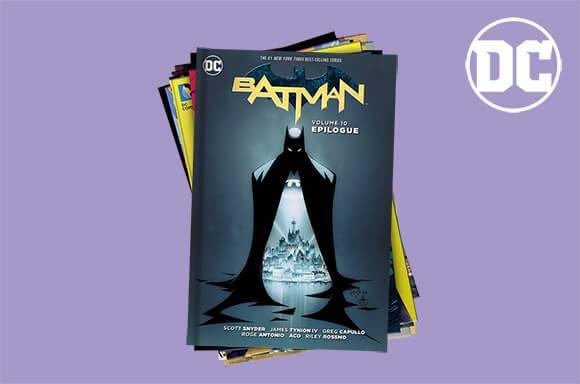 Comics DC : Lot de 10 à 19,99€