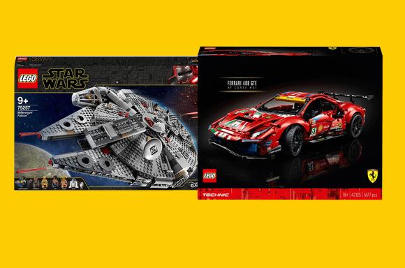 RÉDUCTIONS SUR LES SETS LEGO
