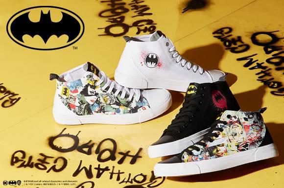 Akedo x Batman Mash Up <br> Chaussures Adulte Coupe Haute