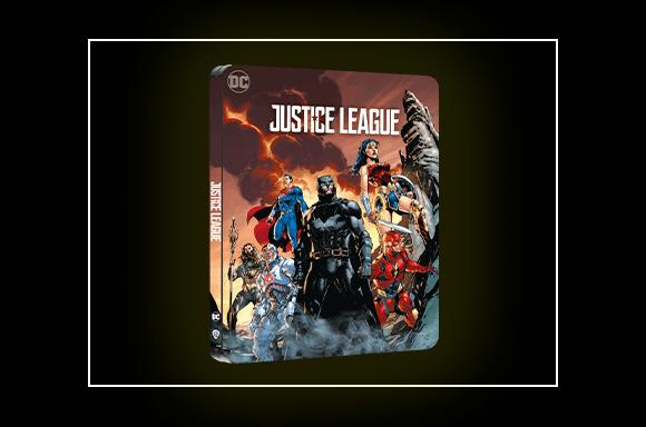 Steelbook Justice League 4K