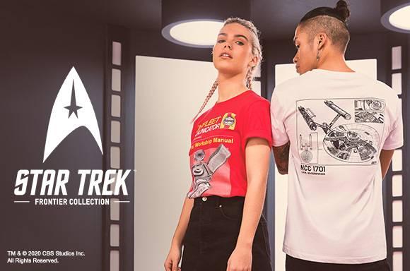 30% de réduction sur les vêtements STAR TREK