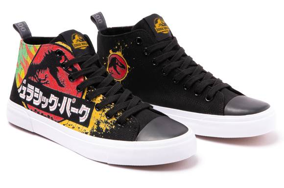 AKEDO X JURASSIC PARK <BR> CHAUSSURES COUPE HAUTE