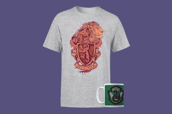 Lot Harry potter : T-Shirt + Mug à 9,99€