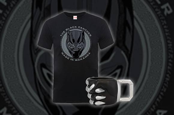 T-Shirt & Mug Black Panther !