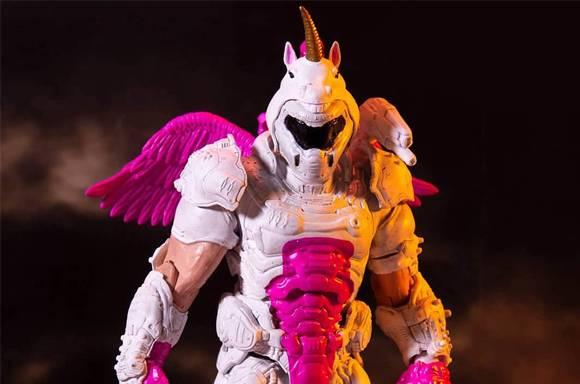 Variante Doom Slayer Doomicorn Action Figure 18 cm