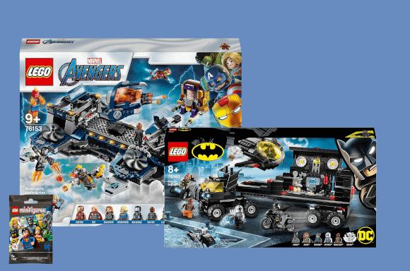 Sets LEGO Super Héros