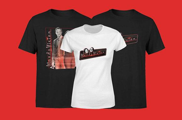 Vente Flash T-shirts WandaVision
