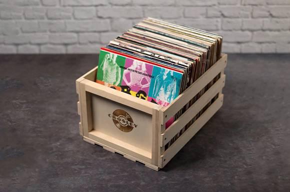 £5 Off In-Stock Vinyl Crate