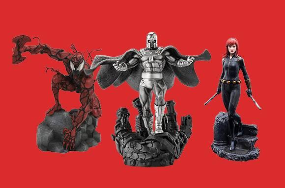 10% de réduction sur les objets de collection Marvel