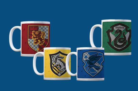 4 mugs Harry Potter pour 17€