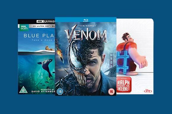 BLU-RAY & DVD À PRIX RÉDUIT !