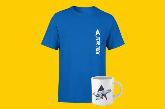 Star Trek T-Shirt & Mug
