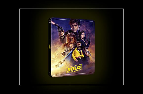 Steelbook Solo: A Star Wars Story 4K Ultra HD<BR><BR>