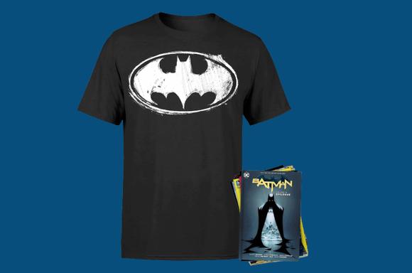 Lot DC : Comics & T-Shirt
