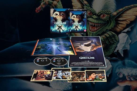 Gremlins Édition Collector Zavvi Exclusive Nouveautés Blu-Ray 4K